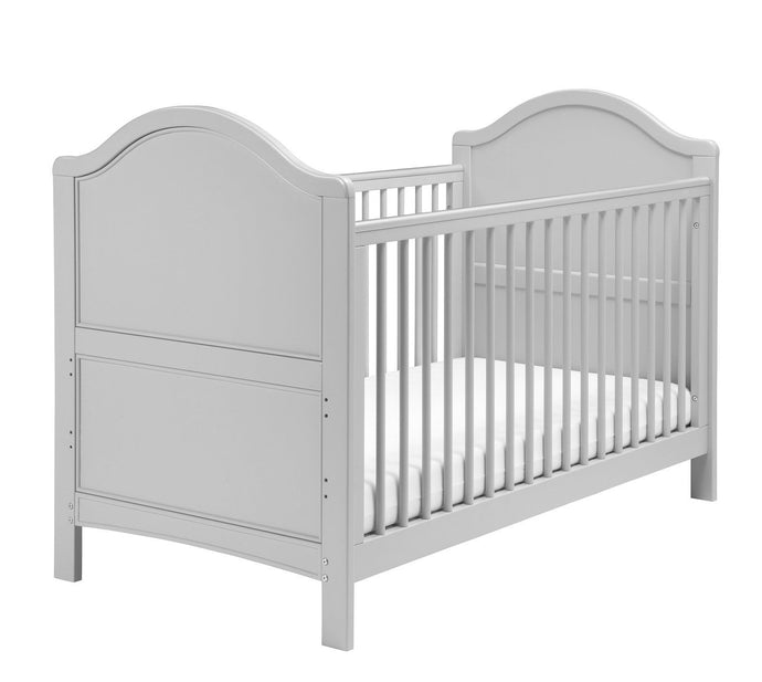 East Coast Toulouse Cot Bed Grey