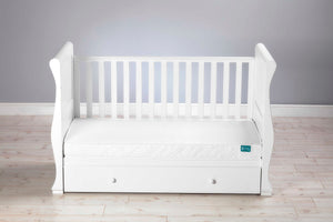 "East Coast Spring ""Cot Bed"" Mattress with Washable Cover"