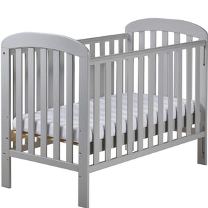 East Coast Anna Dropside Cot, Grey