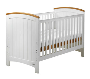 "East Coast ""Coast"" Cot Bed, White"