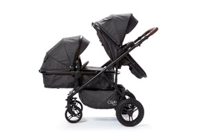 Baby Elegance Cupla Duo Twin Travel System - Black