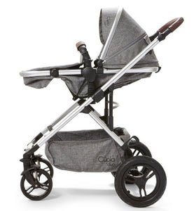 Baby Elegance Cupla Duo 2 in 1 Pushchair & Rain Cover - Grey
