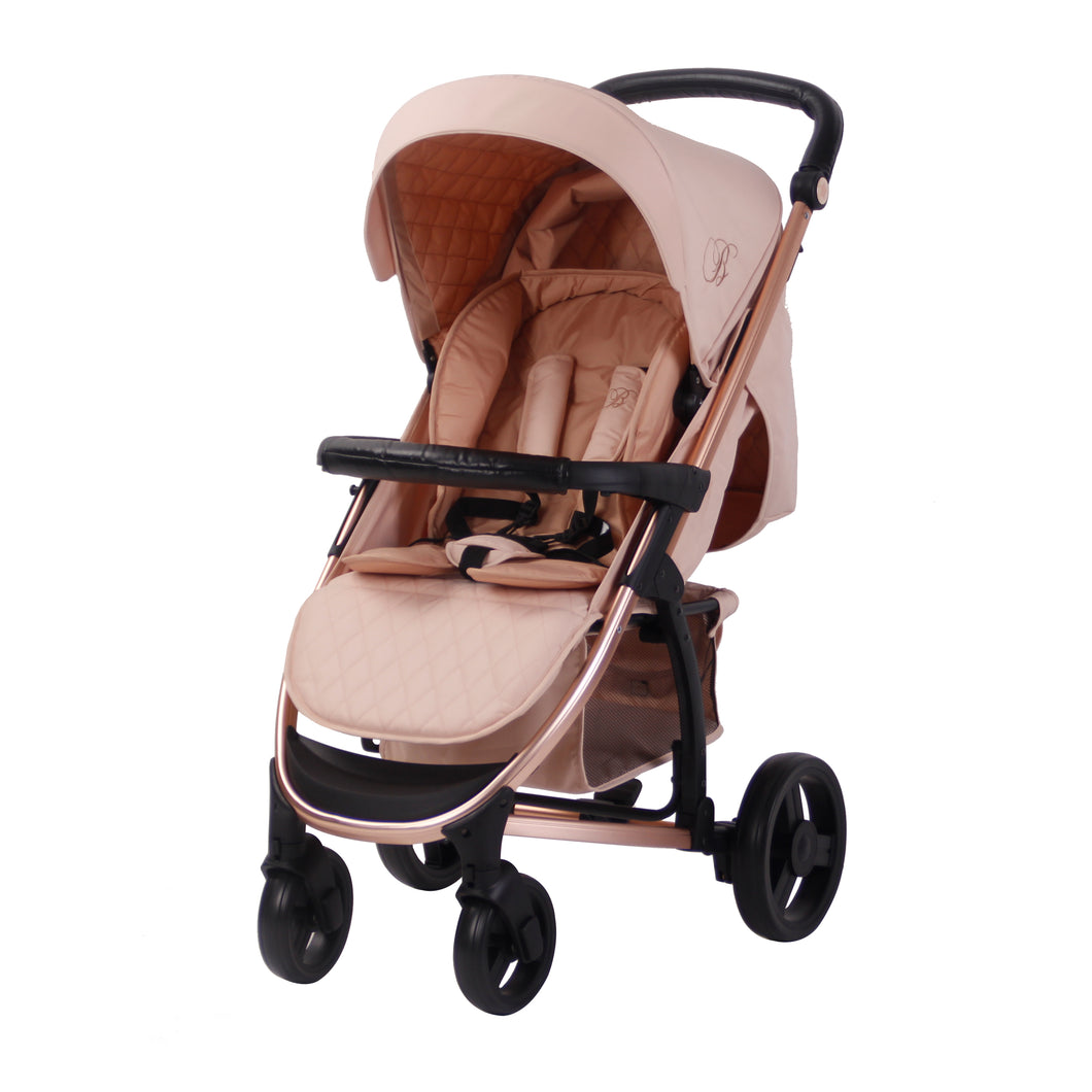 My Babiie Billie Faiers MB200 Pushchair - Rose Gold and Blush