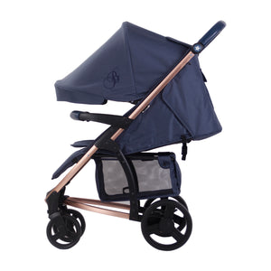 My Babiie Billie Faiers Travel System MB200+  Rose Gold and Navy Travel system