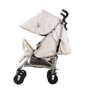 My Babiie Billie Faiers MB22 Twin Stroller -  Cream