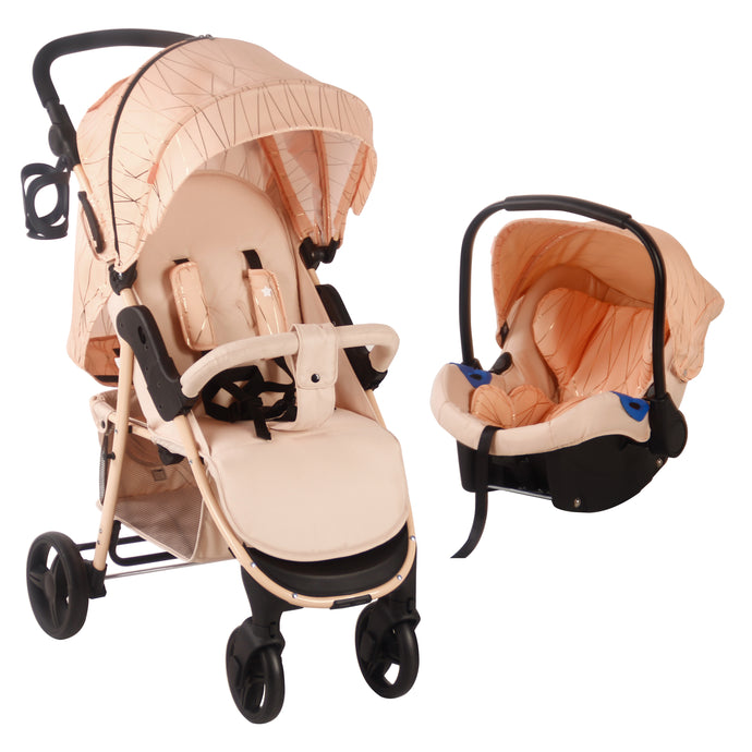 My Babiie MB30 Rose Gold Blush Pushchair and Car Seat