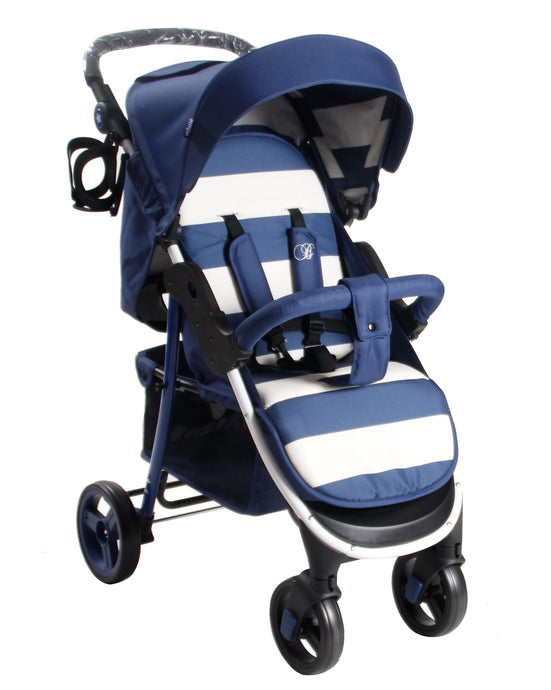 My Babiiie Billie Faiers MB30 Pushchair - Blue Stripes