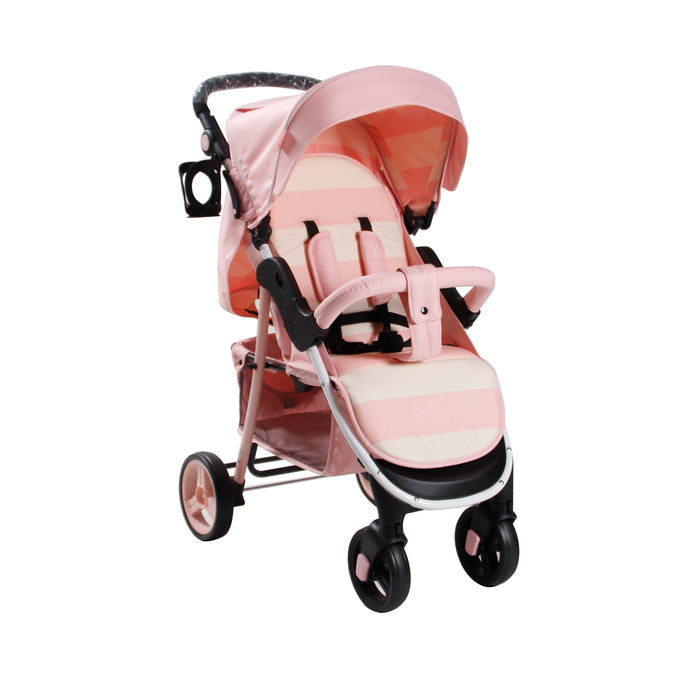 My Babiie Billie Faiers MB30 Pink Stripes Pushchair