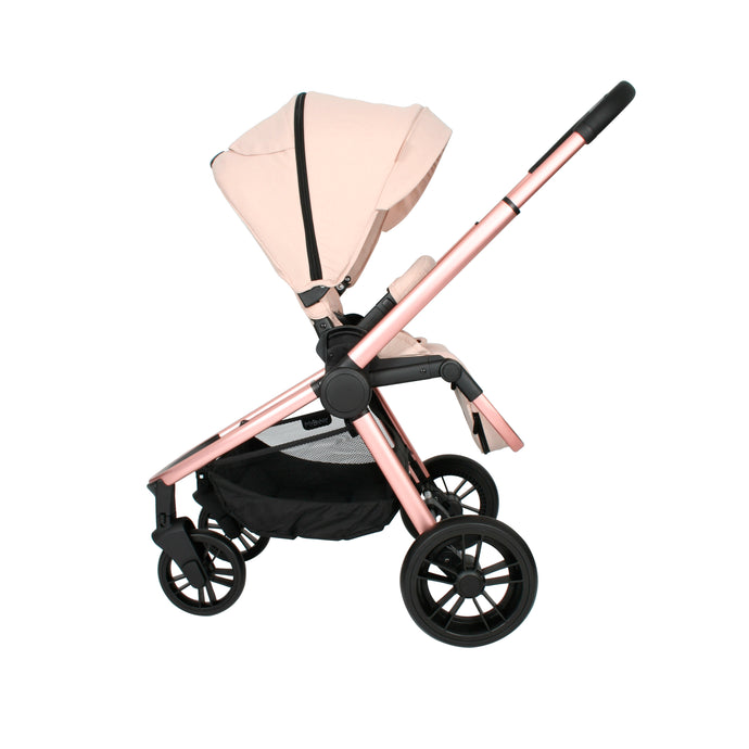 My Babiie Billie Faiers MB400 Stroller - Rose Gold and Blush Melange