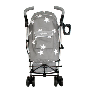 My Babiie Billie Faiers MB51 Stroller - Grey Stars