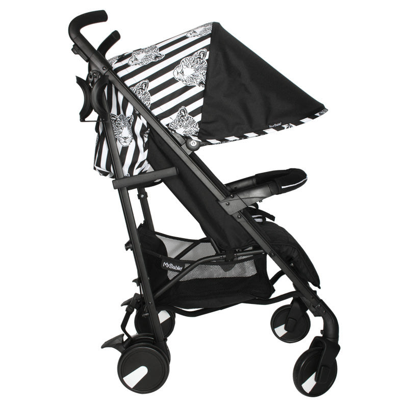 Your Babiie MB51 Monochrome Leopard Stroller