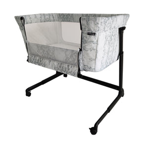 My Babiie Closer Marble Bedside Crib