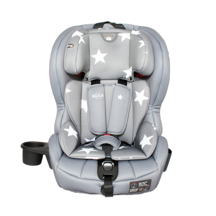 My Babiie Group 123 Grey Stars Isofix Car Seat-OOS 24/04/20