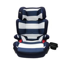 My Babiie Group 2 3 Car Seat Blue Stripes
