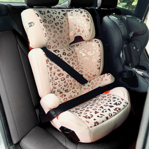 Katie Piper Believe Group 2 3 Blush Leopard Car Seat