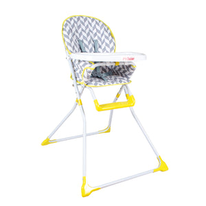 My Babiie Compact Highchair - Herringbone