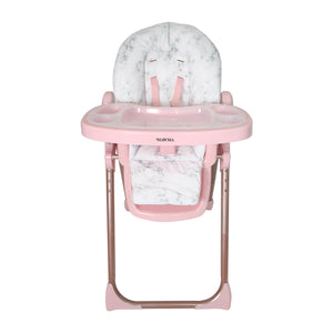 "Nicole ""Snooki"" Polizzi MAWMA Rose Gold Marble Premium Highchair"