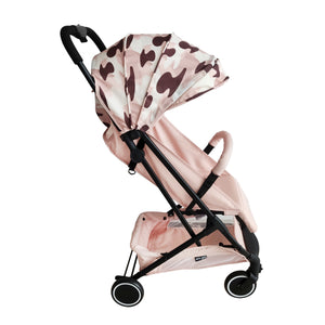 AM to PM Christina Milian MBX1 Blush Camo Compact Stroller