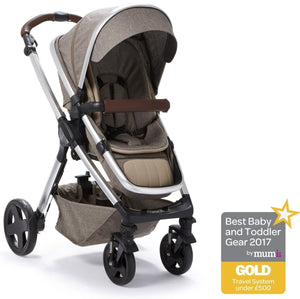 Baby Elegance Venti 2 in 1 Pushchair - Coffee