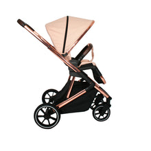 Your Babiie (MB500) Belgravia Rose Gold Blush Travel System