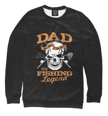 Sweatshirt Sweatshirt grandfather legend of fishing | FSH-897330-swi photo #1