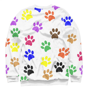 Sweatshirt Sweatshirt rўanine footprints | DOG-554887-swi photo #2