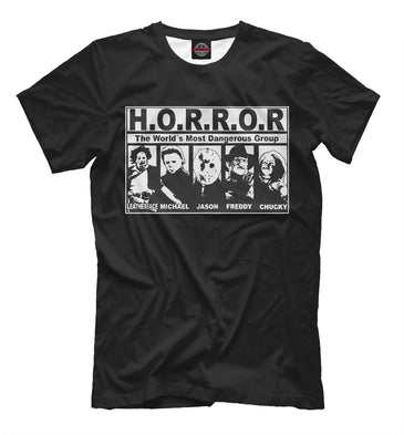 T-shirt T-shirt horror group | HOR-840661-fut-2 photo #1