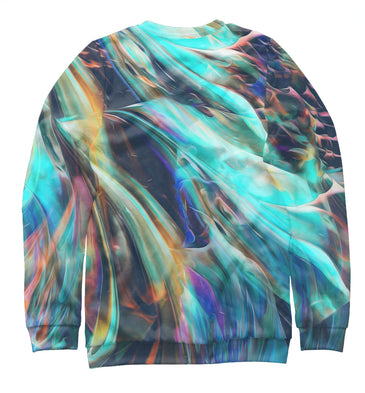 Sweatshirt Sweatshirt abstract waves | ABS-512858-swi photo #2