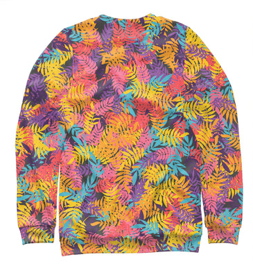 Sweatshirt Sweatshirt iridescent leaves | ABS-141928-swi photo #2