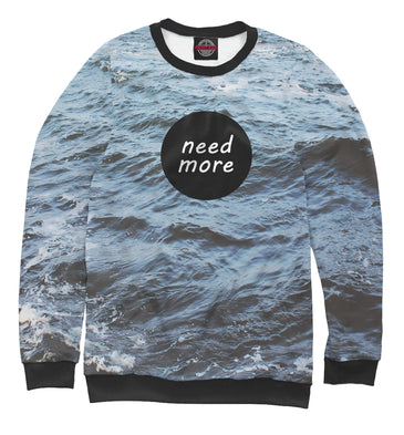 Sweatshirt Sweatshirt need more  | MST-918228-swi photo #1