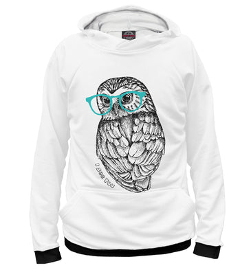Hoody Hoody i see you | OWL-736224-hud photo #1