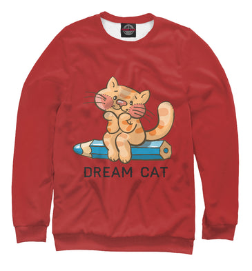 Sweatshirt Sweatshirt dream cat | CAT-185467-swi photo #1