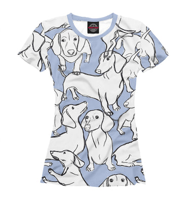 T-shirt T-shirt dachshunds | DOG-836645-fut-1 photo #1