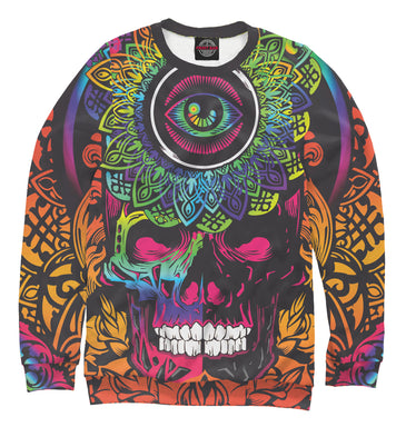 Sweatshirt Sweatshirt skull | PSY-924834-swi photo #1