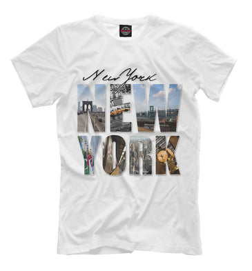 T-shirt T-shirt new york | USA-524161-fut-2 photo #1