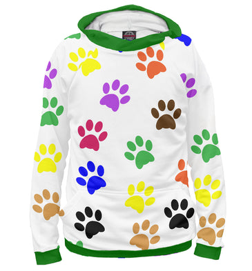 Hoody Hoody rўanine footprints | DOG-554887-hud photo #1