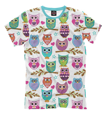 T-shirt T-shirt owls | OWL-757063-fut-2 photo #1