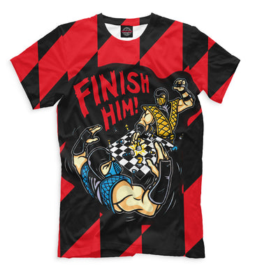 T-shirt T-shirt v finish him | CHS-319152-fut-2 photo #1