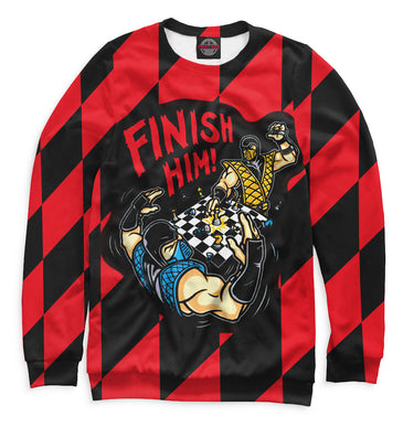 Sweatshirt Sweatshirt v finish him | CHS-319152-swi photo #1