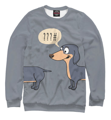 Sweatshirt Sweatshirt dachshund | DOG-404614-swi photo #1