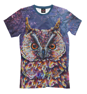 T-shirt T-shirt owl | OWL-608954-fut-2 photo #1