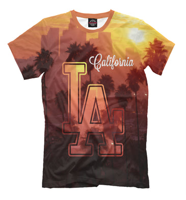 T-shirt T-shirt los angeles | USA-156425-fut-2 photo #1