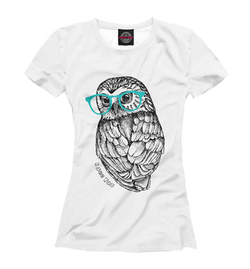 T-shirt T-shirt i see you | OWL-736224-fut-1 photo #1