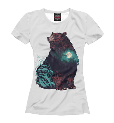 T-shirt T-shirt bear | MED-225728-fut-1 photo #1