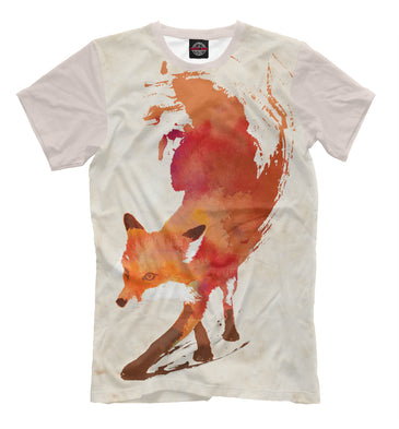 T-shirt T-shirt fox | FOX-719548-fut-2 photo #1