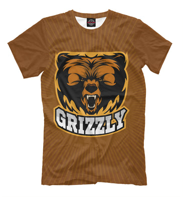 T-shirt T-shirt grizzly | MED-253869-fut-2 photo #1