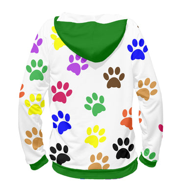 Hoody Hoody rўanine footprints | DOG-554887-hud photo #2
