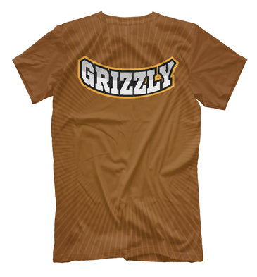 T-shirt T-shirt grizzly | MED-253869-fut-2 photo #2