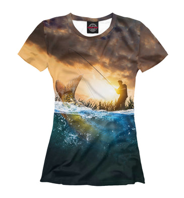 T-shirt T-shirt fishing | FSH-302113-fut-1 photo #1