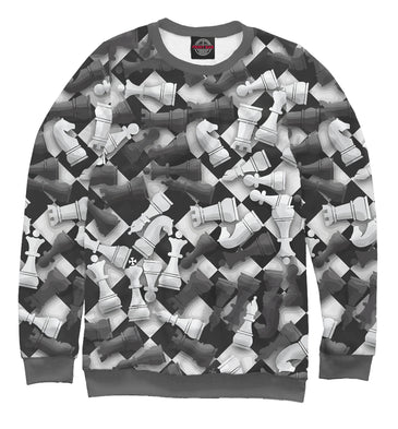 Sweatshirt Sweatshirt chess | CHS-114886-swi photo #1